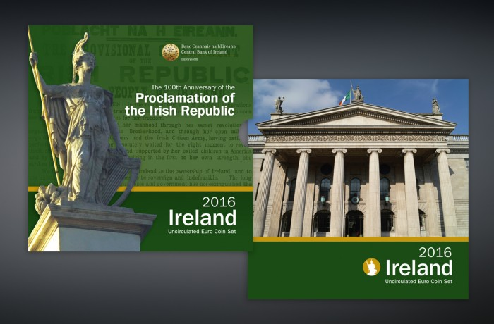 1916 Easter Rising Coin Pack