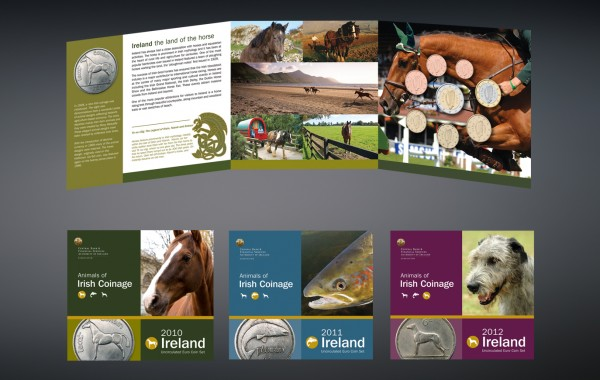 Animals of Irish Coinage Coin Packs