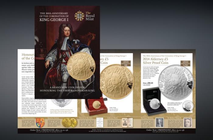 George I Coins Mailer