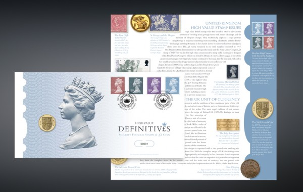 Royal Mail High Value Definitives