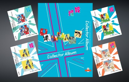 Royal Mail 2012 Olympics Collectors Pack