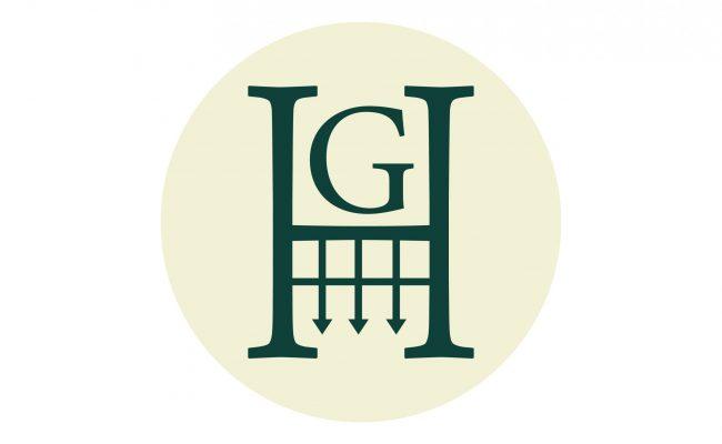 GH LOGO_Blue on Cream Logomark
