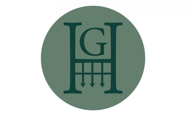 GH LOGO_Blue on Grey Logomark